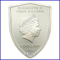 FERRARI SHIELD 2013 Cook Islands 20g proof silver coin