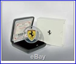 Ferrari, 2013, Cook Islands, 5$, Proof Silver Coin, Scuderia Ferrari, Shield