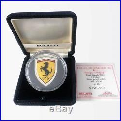Ferrari 20g Silver Proof Coin 2013 Cook Islands