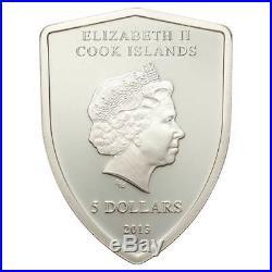 Ferrari Badge Coin 20g Silver Proof Cook Islands