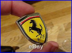 Ferrari Sterling Silver 925 Badge Shield Cook Islands Coin & Coa Formula One F1