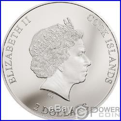 HIGH VOLTAGE ACDC 1/2 Oz Silver Coin 2$ Cook Islands 2018