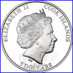 JUDAEAN DESERT HolyLand Sand 1 Oz Silver Coin 5$ Cook Islands 2015