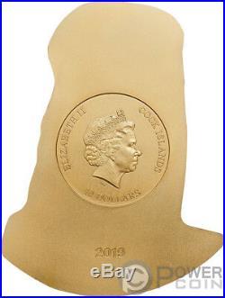 KISS 3D Gustav Klimt 2 Oz Silver Coin 10$ Cook Islands 2019