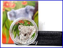 KOALA EUCALYPTUS Scent Cook 5$ Cook Islands 2011 Silver Coin