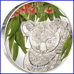 KOALA Eucalyptus Scent Silver Coin 5$ Cook Islands 2011
