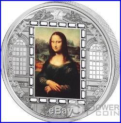 MONA LISA Leonardo da Vinci 3 Oz Silver Coin 20$ Cook Islands 2016