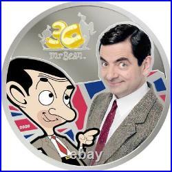 Mr BEAN 30th ANNIVERSARY 2020 Cook Islands 1oz silver coin