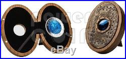 NAUTILUS Verne Captain Nemo Mother Pearl 5 Oz Silver Coin 50$ Cook Islands 2014