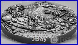 PROMETHEUS Titans 3 Oz Silver Coin 20$ Cook Islands 2020