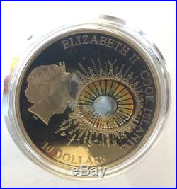 RARE 2012 Cook Islands $10 Windows Of History 2oz Silver proof TITANIC coin
