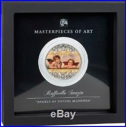 Raffaello Sanzio Masterpieces of Art 3oz Proof Silver Coin 20$ Cook Islands 2020