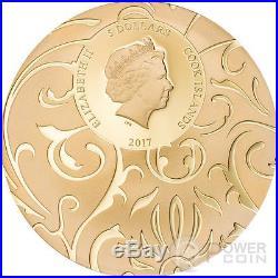 SCARAB SELECTION Set 3x1 Oz Silver Coin 5$ Cook Islands 2017