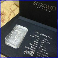 Shroud Of Turin Lord Jesus Christ Cook Islands 2020 1 Oz Silver Coin NEW