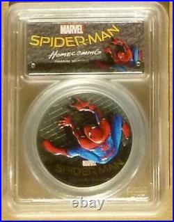Spiderman Marvel Homecoming 2017 PCGS PR69 DCAM First Day of Issue