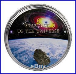 TAMDAKHT METEORITE STRIKE silver coin Cook Islands 2016