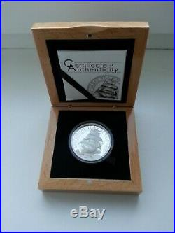The Great Tea Race 2016 Cook Islands 10 $ Proof silver coin 2 Oz