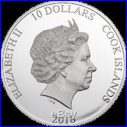 The Great Tea Race 2oz Silver Proof Coin PCGS PR69 FS Smart Mint Mintage 999
