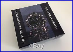 The Hope Diamond HiRe minted 2 oz Silver Proof Coin $10 2016 Cook Islands