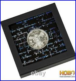 VITRUVIAN MAN 1 Oz Silver Coin 5$ Cook Islands 2021