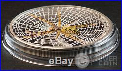 WASP SPIDER Magnificent Life 1 Oz Silver Coin 5$ Cook Islands 2016