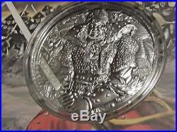 YI SOON SHIN, 10$ Cook Islands 2017, 2 Oz Silver Coin